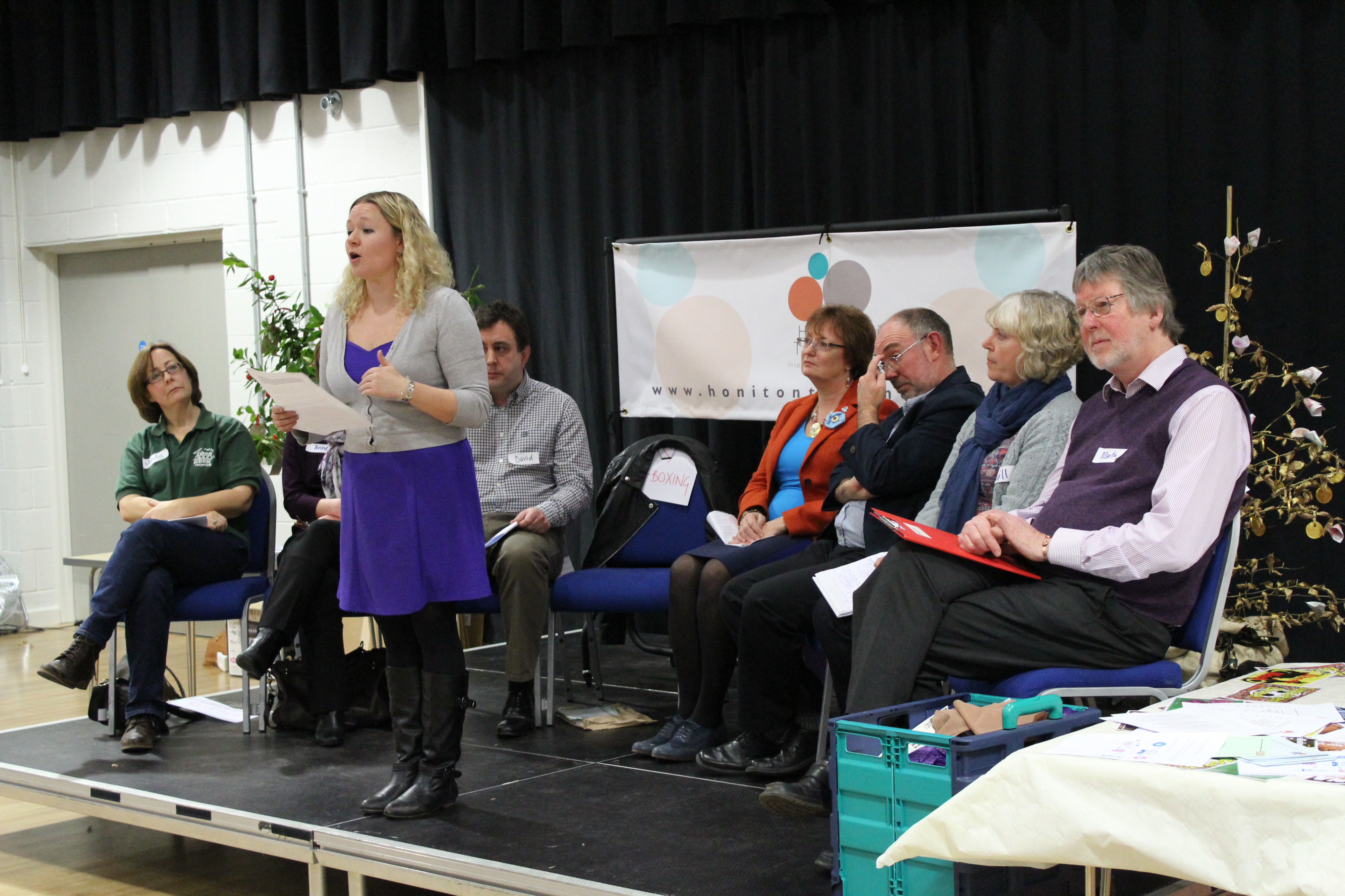 Honiton Together Community Dragons Den