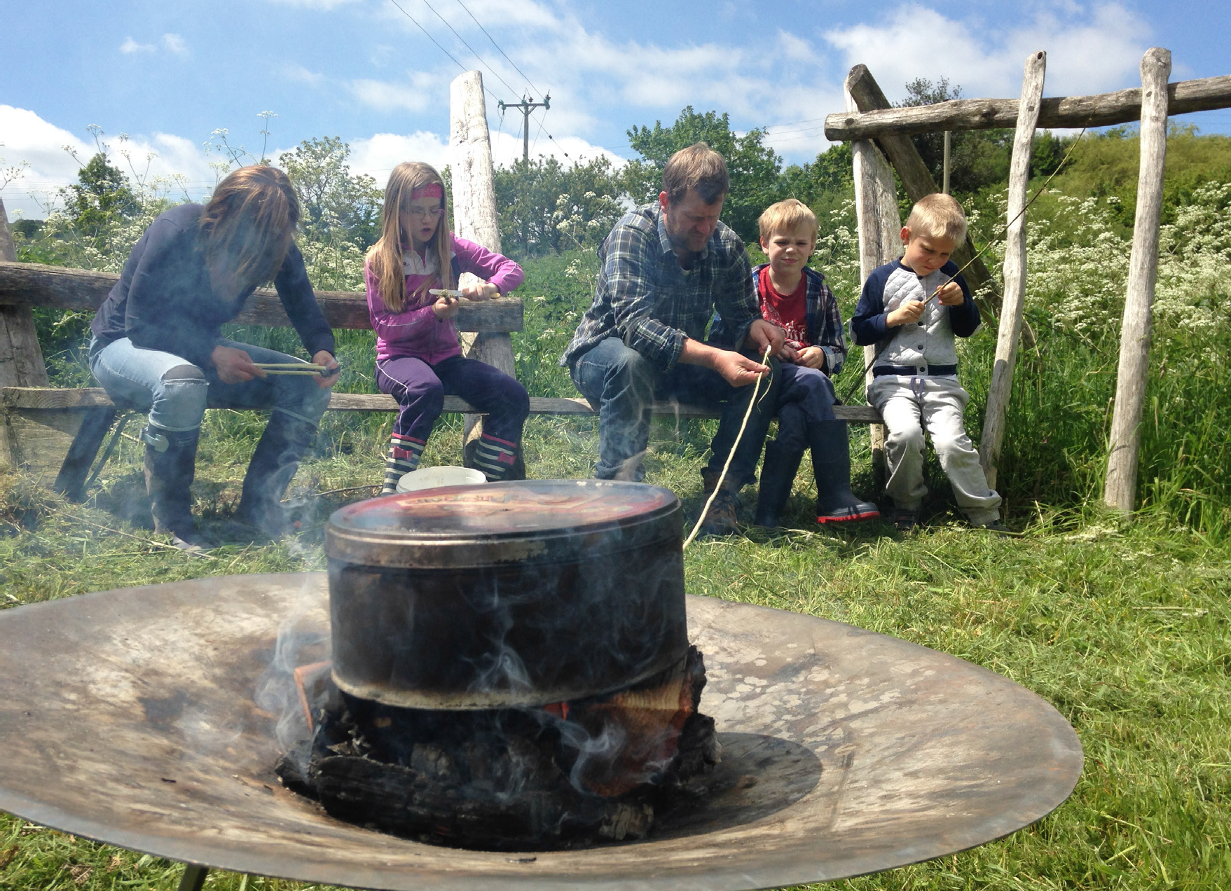 Campfire Cooking and Circus Skills