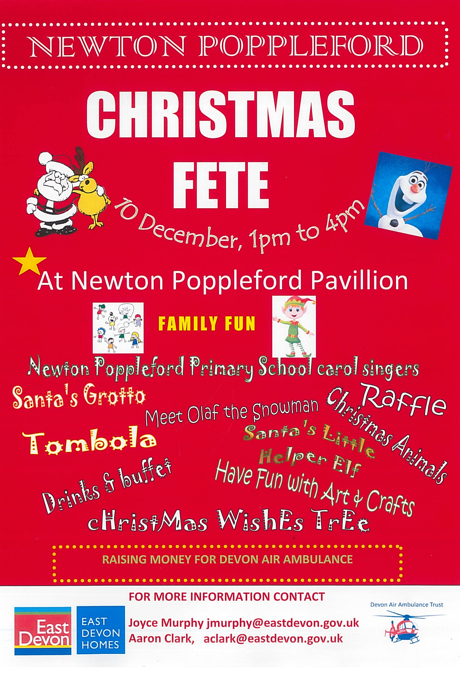 Christmas Fete, Newton Poppleford