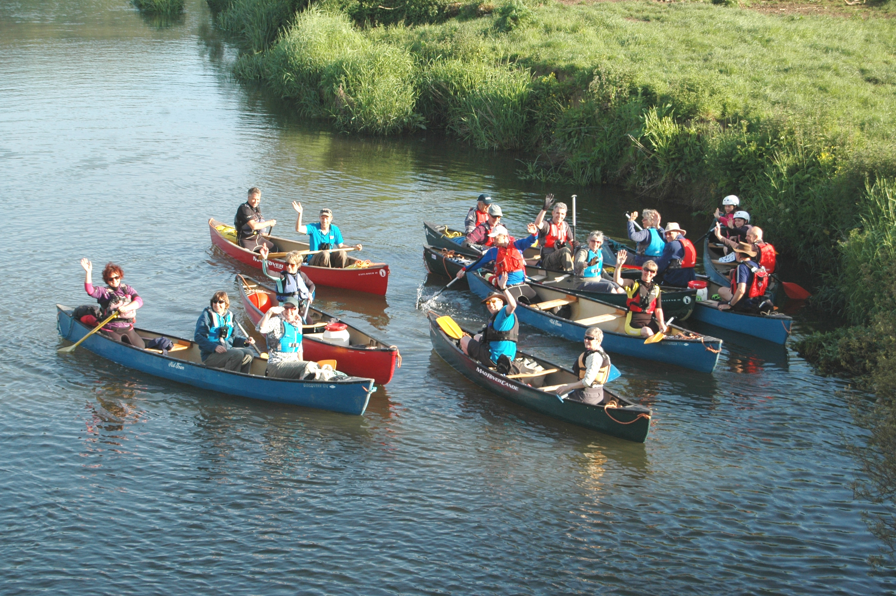 Canoe safari 12 July