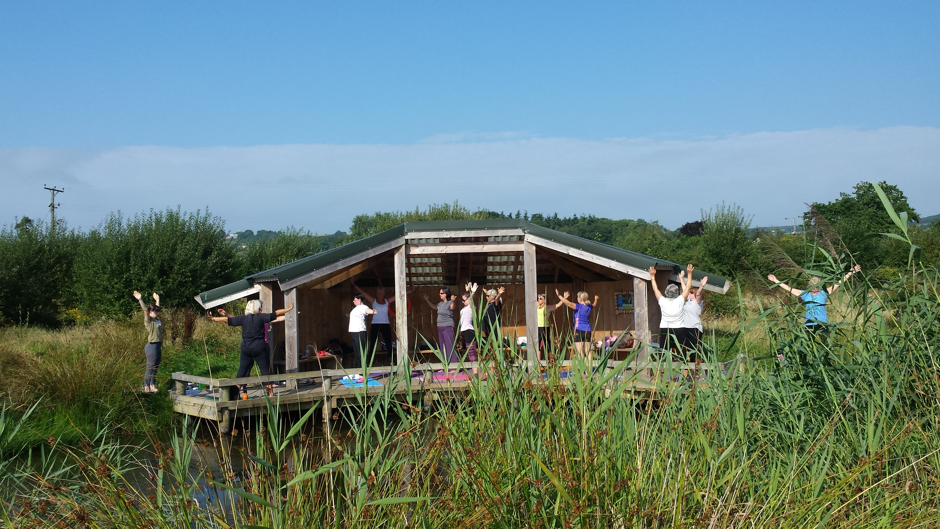 Yoga at Seaton Wetlands 1 Aug