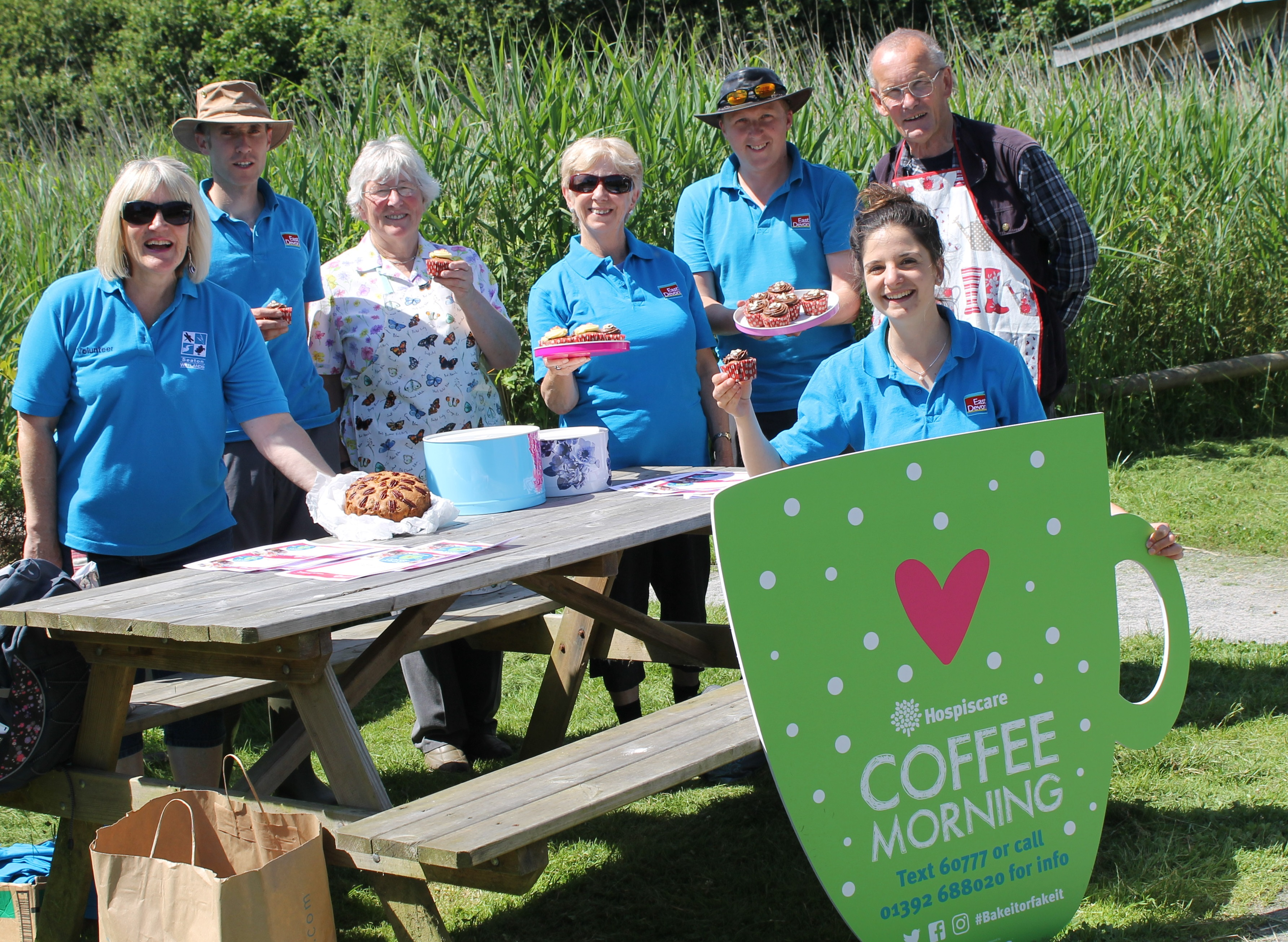 Hospiscare coffee morning