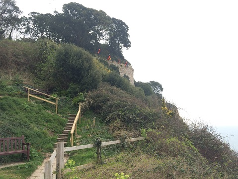 East Devon's annual cliff inspections are carried out to ensure the continued safety of the public