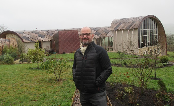 Senior Development Control Officer Charlie McCullough says the owners of this inspirational eco home worked hard to address any planning concerns