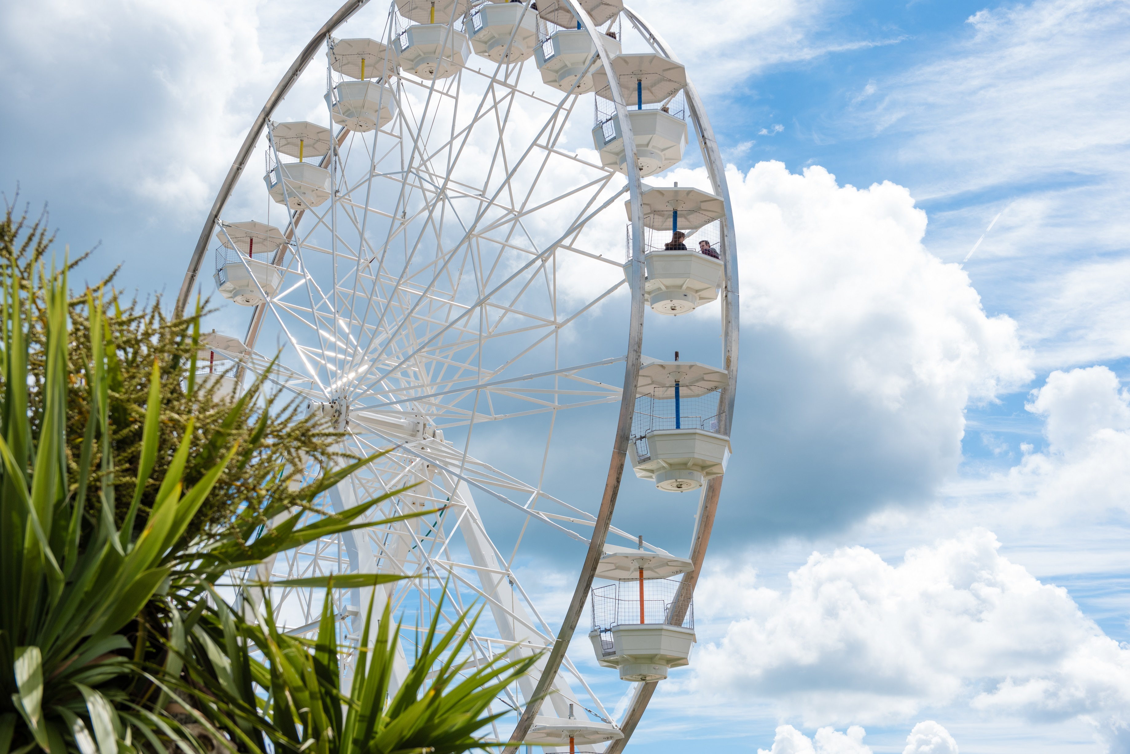 The Exmouth wheel, which was enjoyed by thousands of visitors last year.