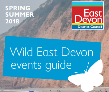 The Wild East Devon summer events guide is available in tourist information centres and libraries