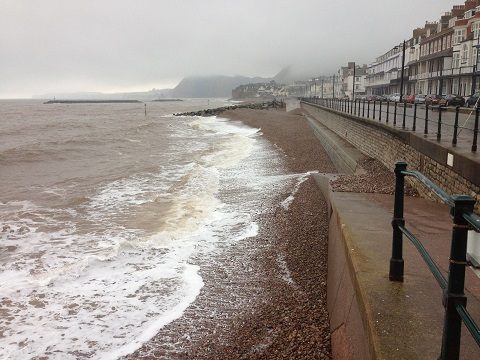 Sidmouth's Beach Management Scheme aims to reduce the risk of flooding to the town by improving the beach and defences on the main seafront and by reducing the rate of erosion along East Beach
