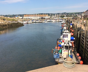 The harbour improvements will help local fishermen improve the quality of their catches
