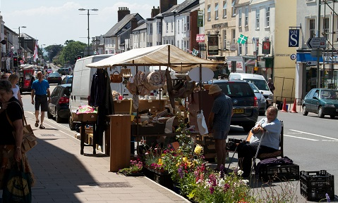 Honiton's historic town centre will play host to the new Honiton Gate to Plate event on Wed 18 July