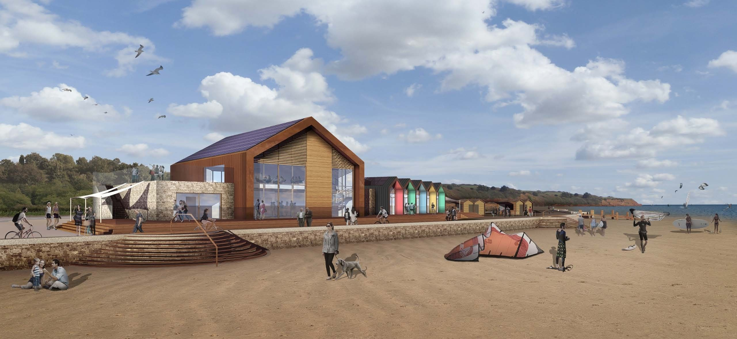 District council grants planning permission for new water sports centre in Exmouth