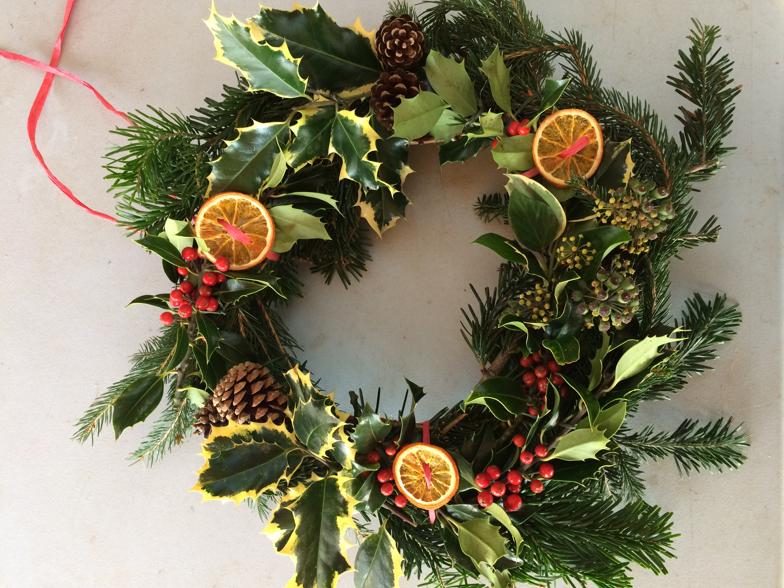 Wreath making at Seaton Wetlands (2pm to 4pm)