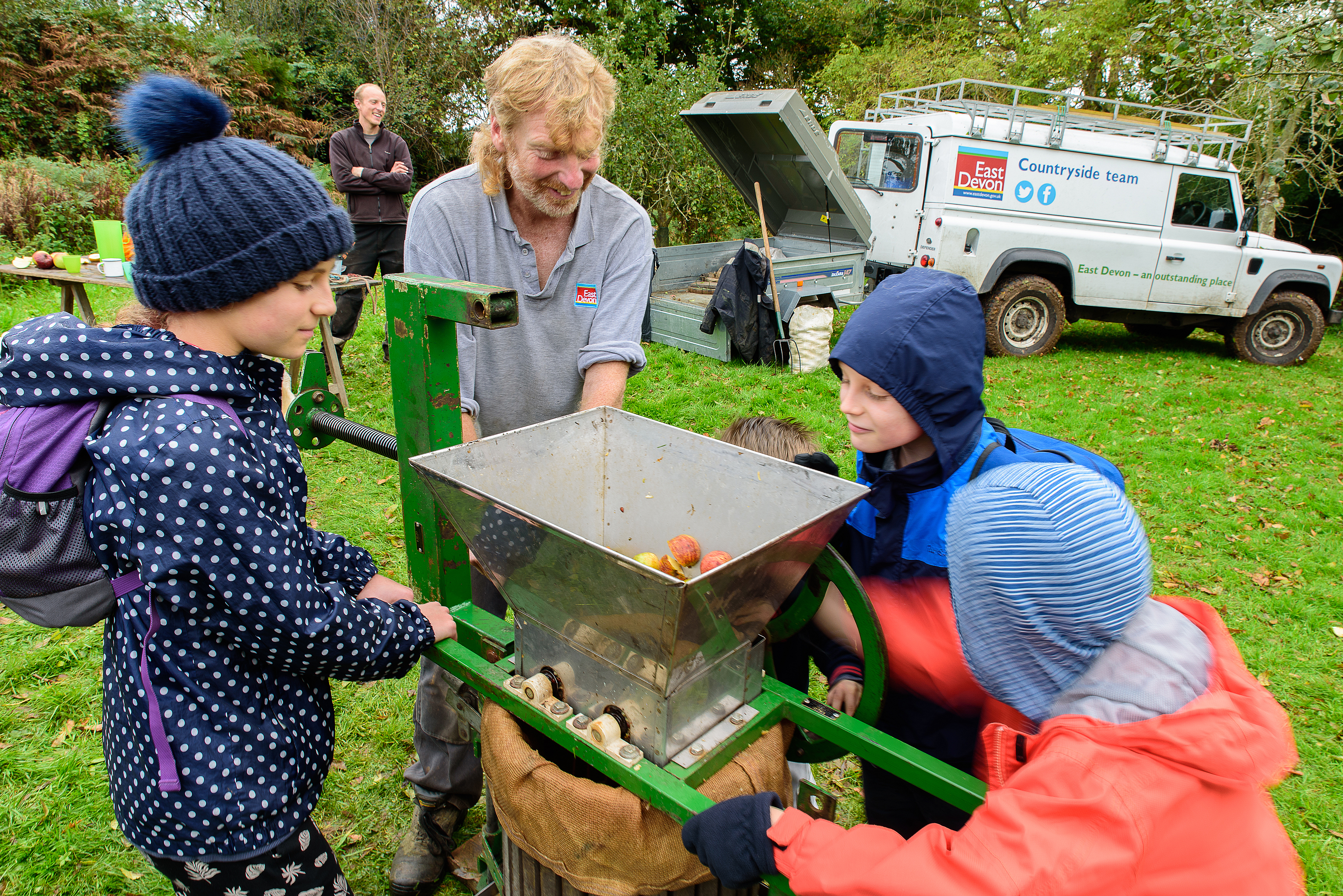 Apple pressing at Sidmouth (Wed 23 Oct) 10.30 am - 1.30 pm
