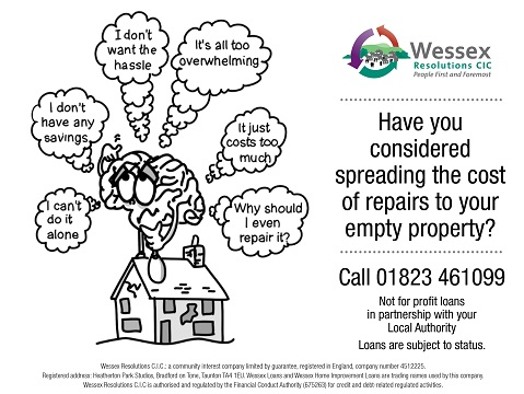Council raising awareness of National Empty Homes Week 2018 (15-21 October)