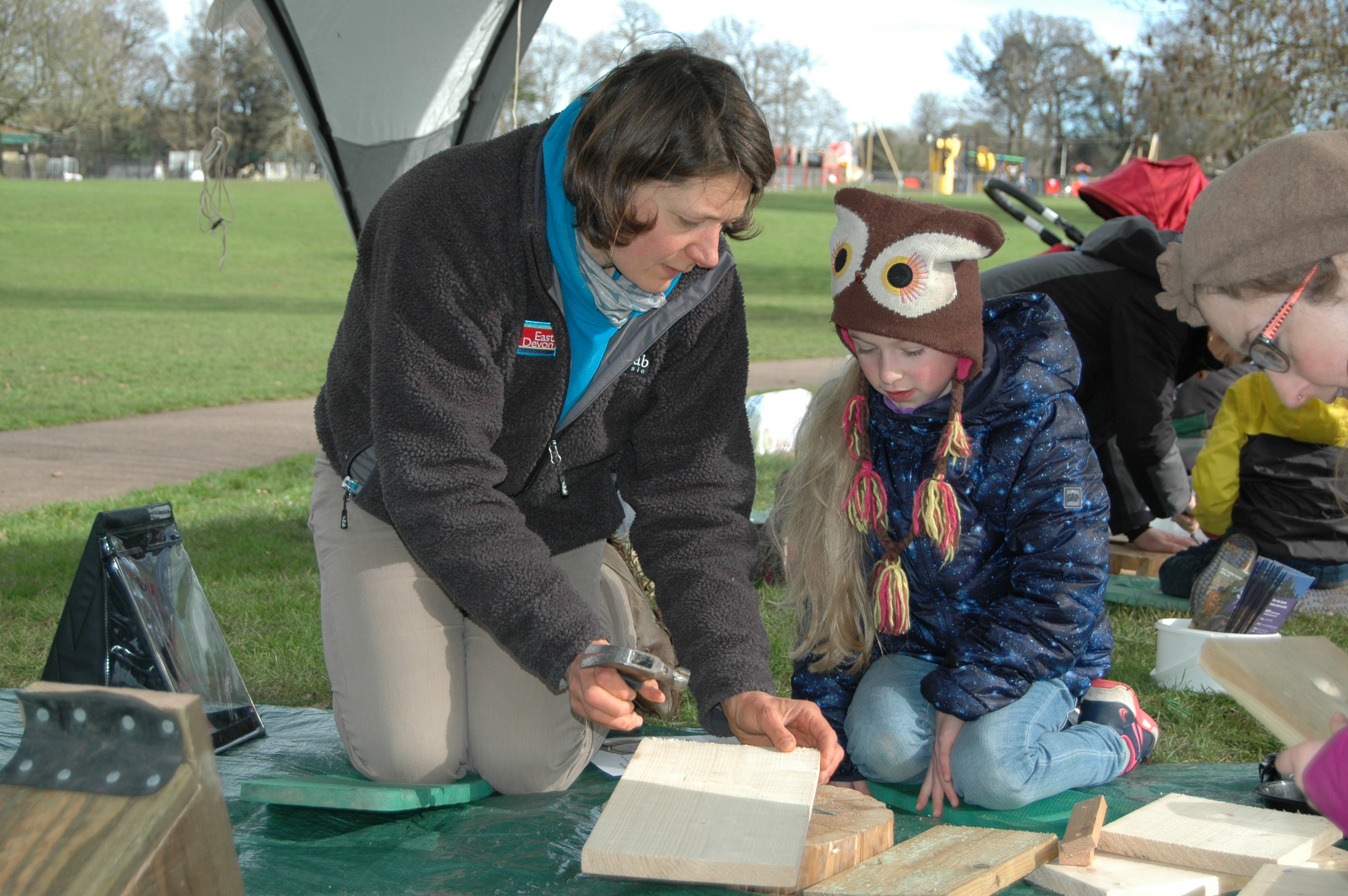 Nest box building 19 February 10am to 11.30am