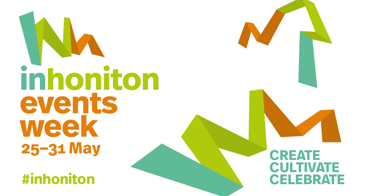 Don't miss out on the action at #inhoniton events week 25-31 May 2019