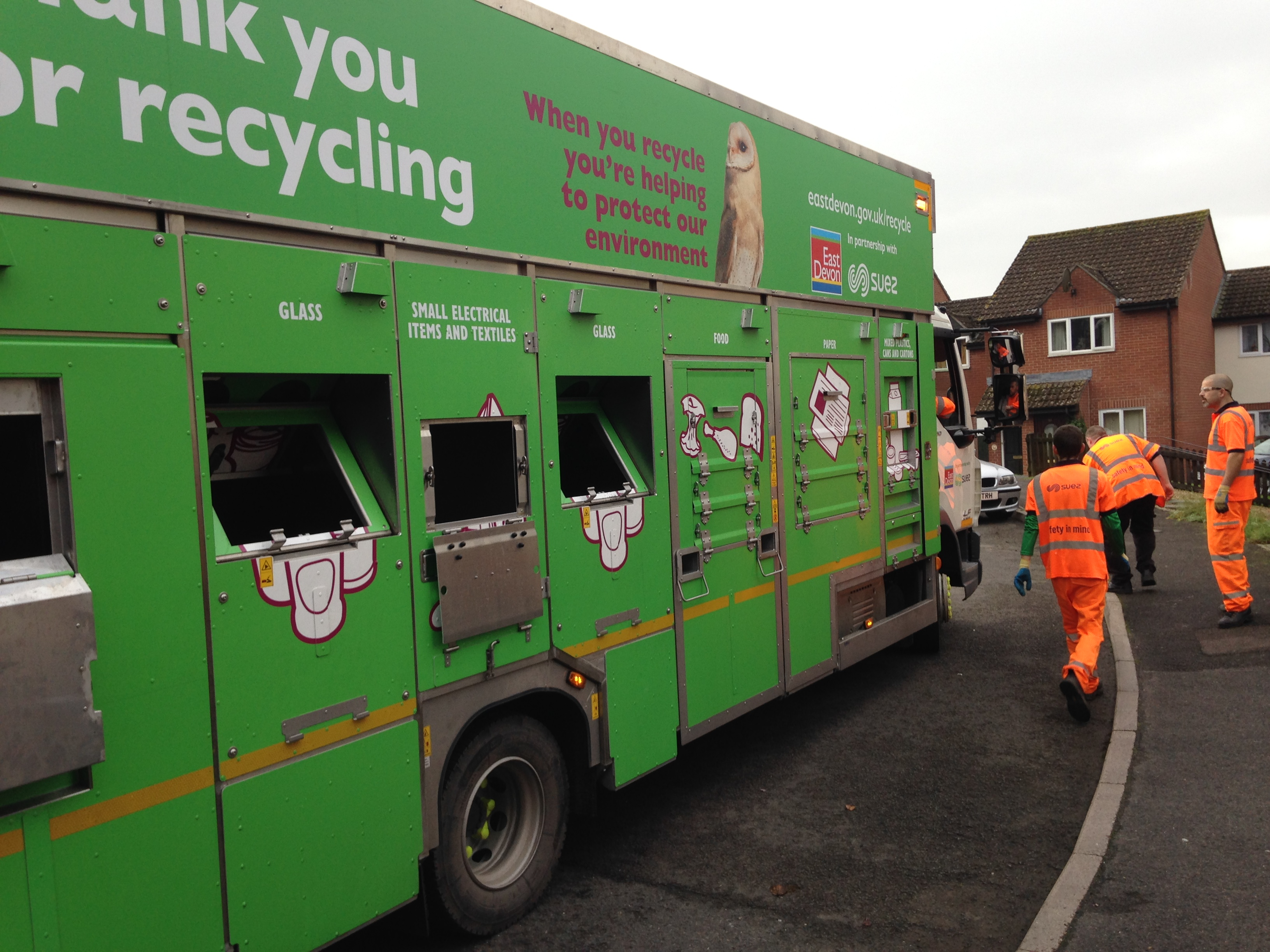 'We're the tops!' East Devon residents are the best recyclers in the county – official