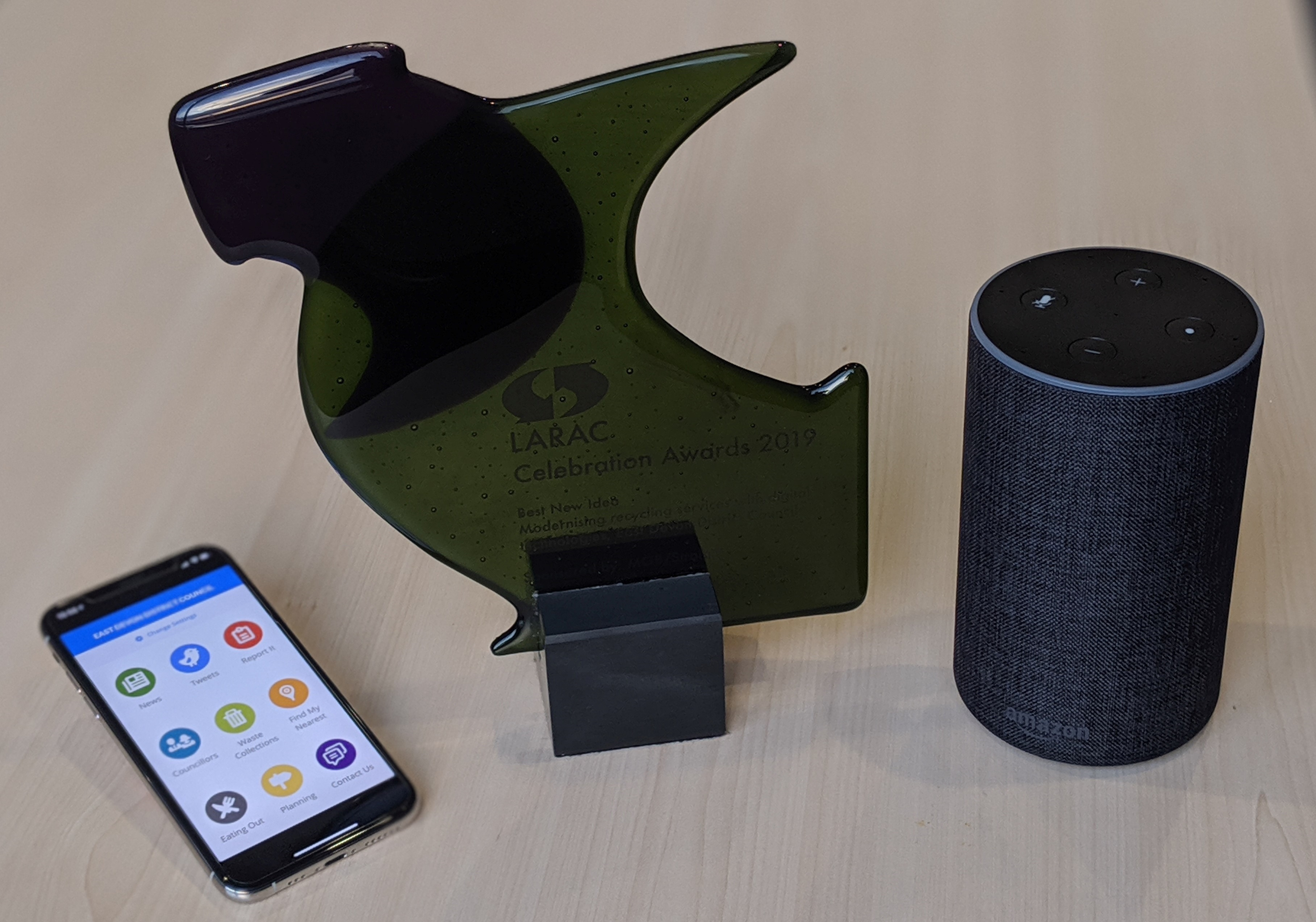 Want to know more about recycling in East Devon? Just 'Ask Alexa . . .'