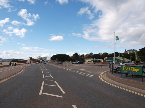 Queen's Drive in Exmouth has the potential to enhance the town's economy