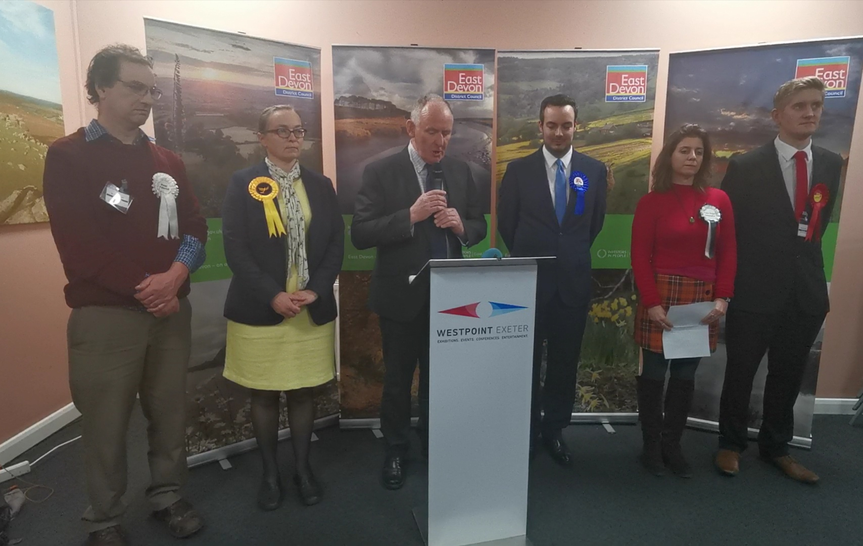 Conservative elected as MP for East Devon