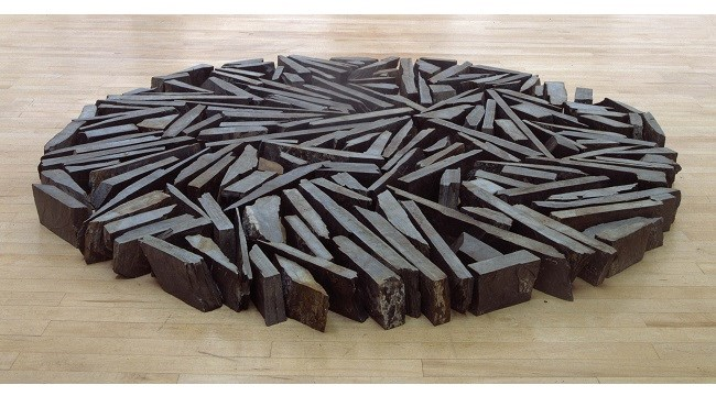 Richard Long Southbank Circle 1991. Presented by Janet Wolfson de Botton 1996.