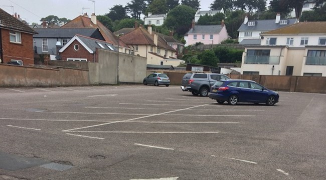 Council to resurface Budleigh car park with innovative plastic waste material