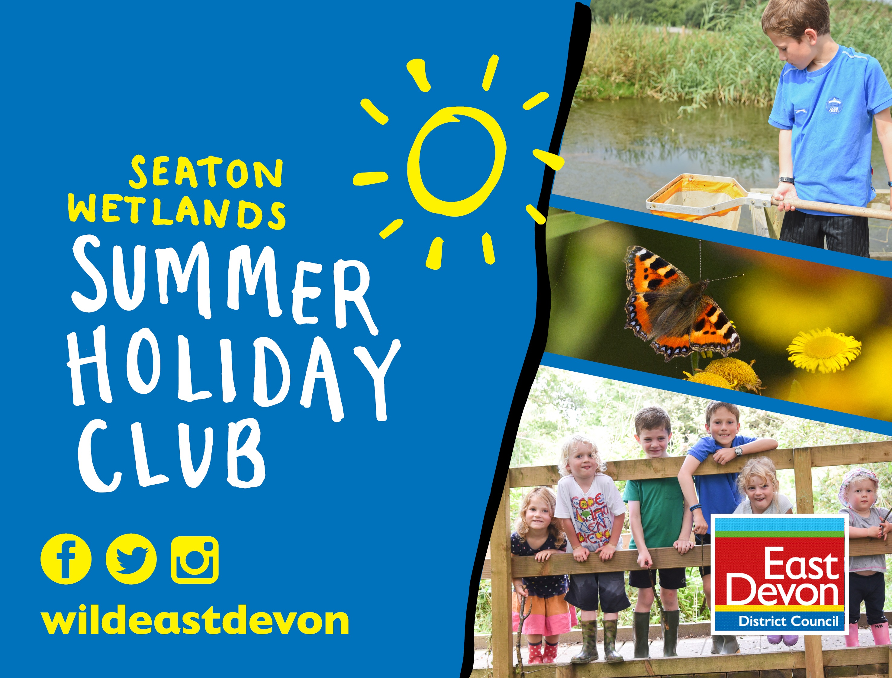 Seaton Wetlands Summer Holiday Club (Tue 18 to Fri 21 Aug)