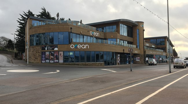 The Ocean building in Exmouth
