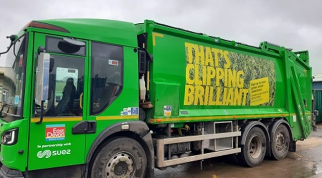 East Devon to resume its Green Waste collection service on 11 May 2020