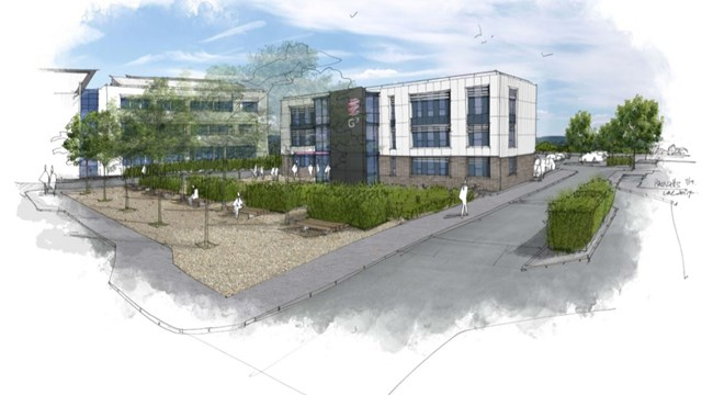 Grow-out Building, Exeter Science Park