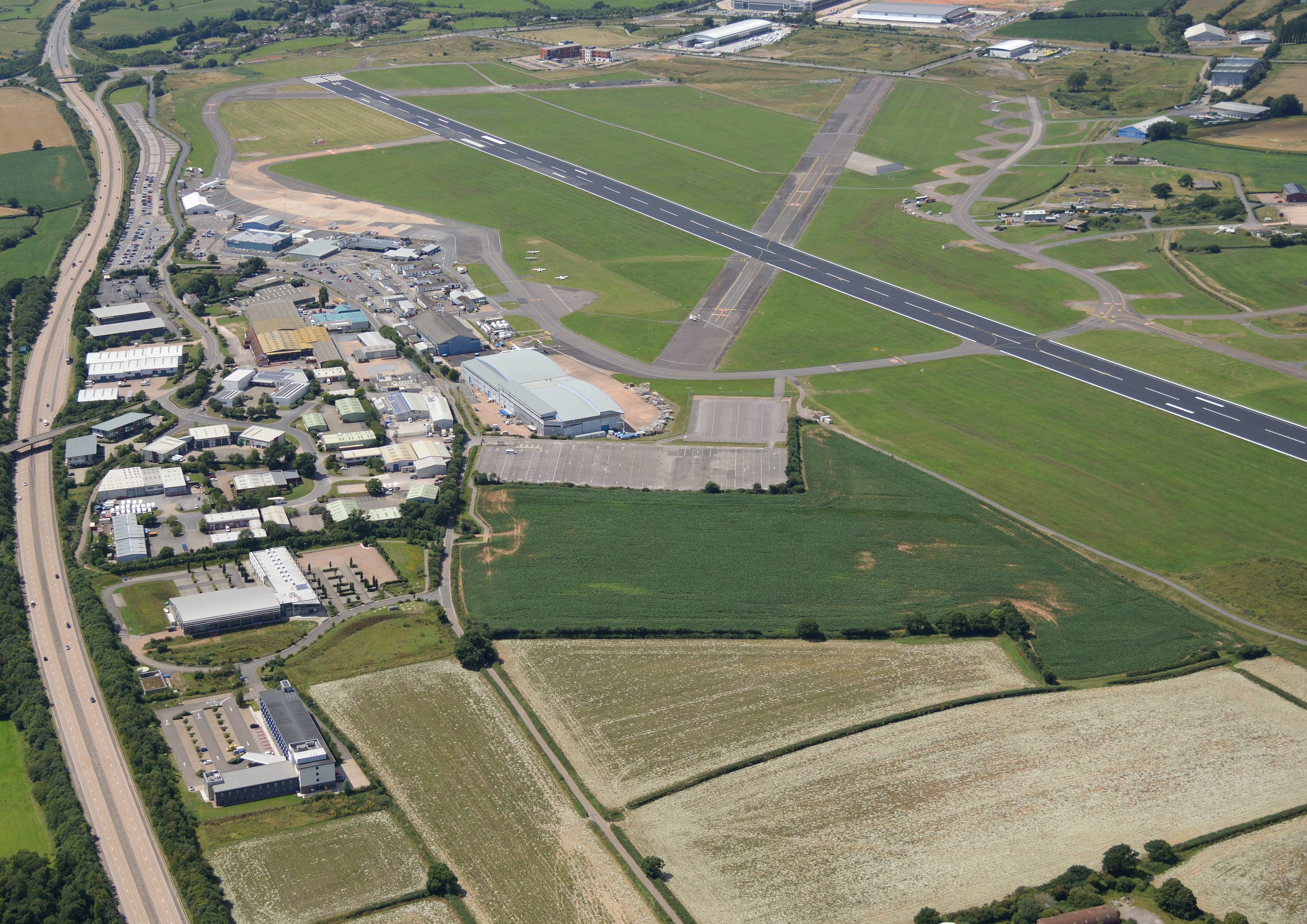 Exeter Airport, Exeter and East Devon Enterprise Zone
